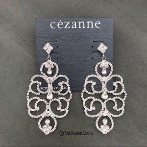 Cezanne Sensitive Skin Rhinestone Earrings